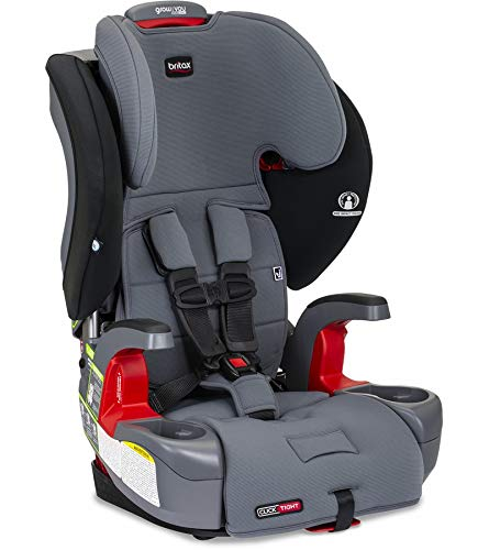 Learn More About Britax Grow with You ClickTight Harness-2-Booster Car Seat, Otto SafeWash