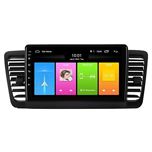 Kilcvt Auto GPS Navigation Stereo, 9 Zoll/Android 10 Auto Multimedia DVD-Player, Für Subaru Legacy 2004-2009 Serie...