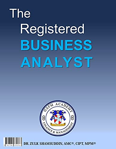 The Registered Business Analyst (English Edition)