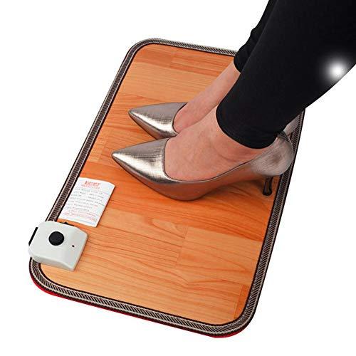 UMIWE Calentador del calentador de pies, almohadilla eléctrica del calentador de pie para la oficina y hogar Artefacto de calentador de pie de invierno