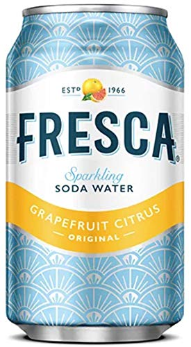 Fresca Original Citrus, Sparkling Soda Water, 12 oz Can (Pack of 18, Total of 216 Oz)