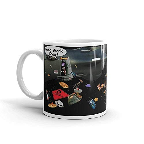 Lsjuee Uh-oh!. 11 Oz Mugs Makes The Perfect Gift for Everyone. 11 Oz Ceramic Coffee Mug Also Makes A Great Tea Cup with Its Large.