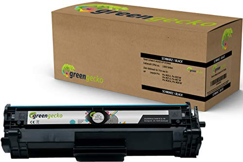 Toner ersetzt HP CF244A | Für HP Laserjet Pro M15a, M15w, HP Laserjet Pro MFP M28a, M28w | Druckerpatrone schwarz, neuester Chip
