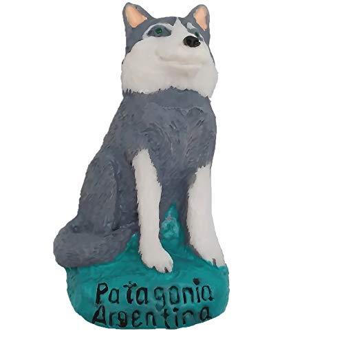3D Husky Patagonia Argentinië koelkast magneet souvenir geschenk, Huis & keuken decoratie magnetische sticker, Husky Argentinië koelkast magneet