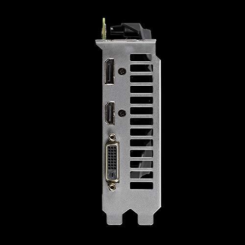 ASUS Phoenix GeForce GTX 1650 SUPER OC Gaming Grafikkarte (Nvidia GTX1650S, 4GB GDDR6 Speicher, PCIe 3.0, DVI, HDMI, DisplayPort)
