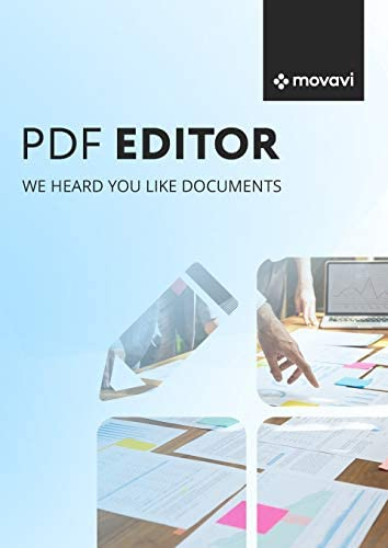 Top New Movavi PDF Editor 3.0 Business [PC Download]