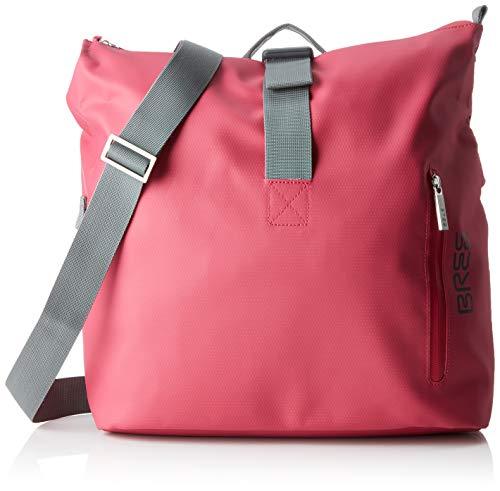 BREE Unisex-Erwachsene PNCH 722 messenger bag S Umhängetasche, Pink (Jazzy), 12x36x33 cm