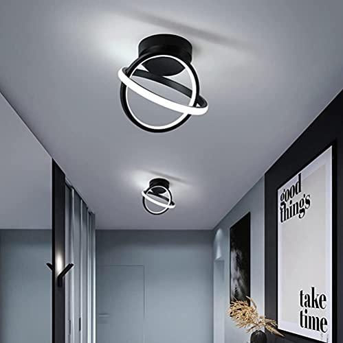 LED Lámpara de Techo, 22W Plafón Led Moderna, Luz de Techo Para Baño Cocina Sala de Estar Dormitorio Pasillo Balcón IP44 6000K (Blanco Frío) 1PCS