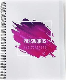 Best spiral password book Reviews