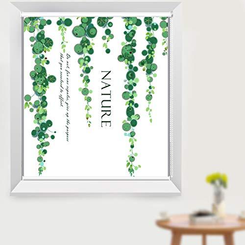 HYDT Store en bambou Verdunkelungs-Thermorollos mit Armaturen, 60/80/100/120/140 cm Breite wasserdichte Sonnenschirme für Badezimmer Balkon Fenster (Size : 60x120cm)
