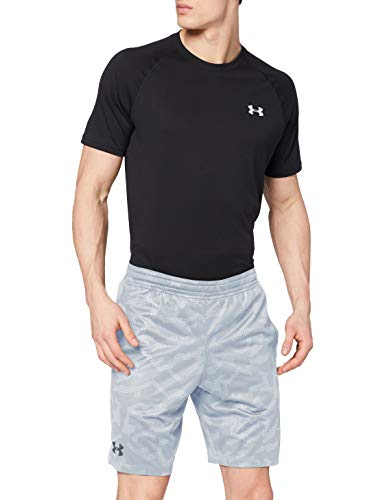Photo of Under Armour Men's Mk1 Short Printed, Mod Gray / / Pitch Gray (011), X-Large