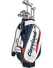Cleveland GOLF(クリーブランドゴルフ) クラブセット クリーブランド パッケージセット (11本セット・キャディバッグ付) アイアン:カーボンシャフト カーボン メンズ 右 フレックス:R