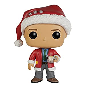 Funko POP! Movies: Christmas Vacation - Clark Red, Standard - 41suTmCf8DL - Funko POP! Movies: Christmas Vacation – Clark Red, Standard