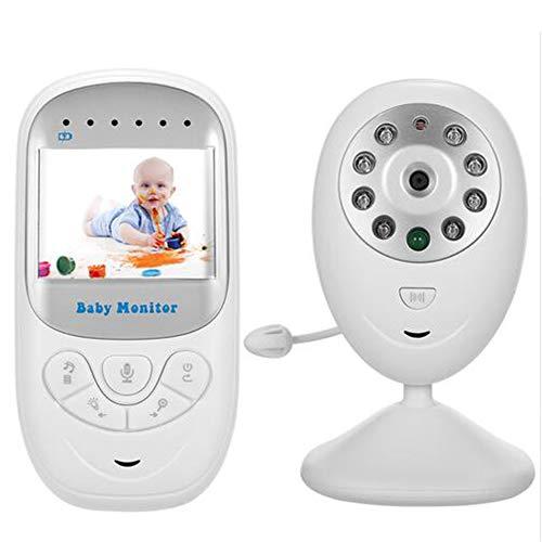 2.4 '' TFT LCD Moniteur Bébé sans Fil Talk 2 Voies Vidéo Audio Vidéo Bébé Nanny Caméra De Sécurité Vision Nocturne VOX Mode 8 Berceuses