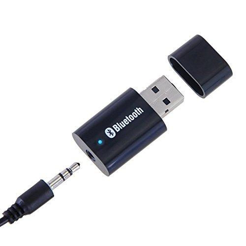 JUSTOP Récepteur Audio stéréo Bluetooth, Adaptateur Universel de Musique pour Haut-parleurs / stéréo Voiture / système de Musique sonore (BTR003)