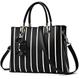 Purses and Handbags for Women Tote Shoulder Crossbody Bags with Long Strap Detachable Pu Leather Satchel Top Handle Handbags