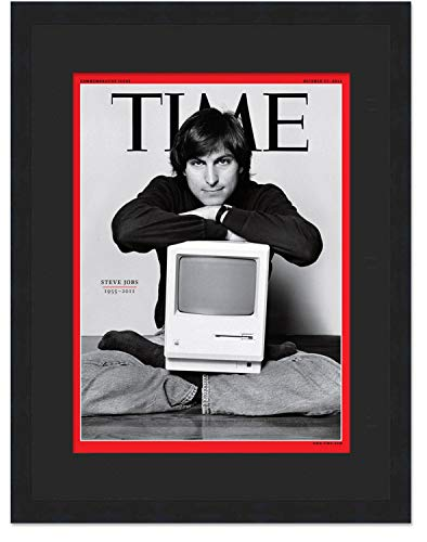 Time Magazine Display Frame � Complete with Acrylic, Backing, and Black Mat - Fits Any Magazine Measuring 8' x 10 3/4'