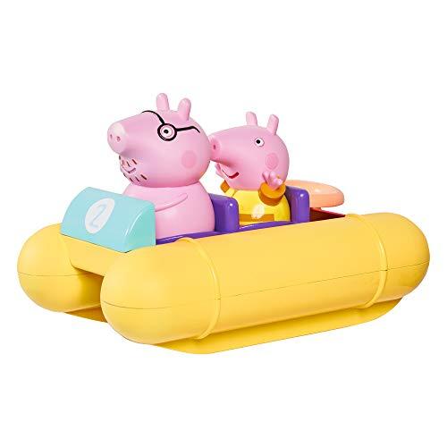 TOMY Toomies Peppa Wutz Pedalo, Baby-Badespielzeug, spaßiges Bade-Accessoire und Wasserspiel für Kinder, geeignet für 18 Monate, 2, 3 und 4 Jahre alte Jungen und Mädchen