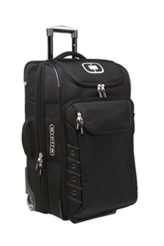 Ogio Canberra 26' Travel Bag (Black/Silver) 413006