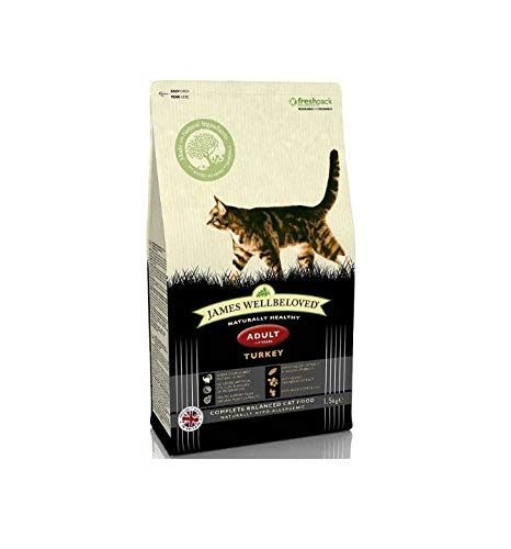 James Wellbeloved Turkey And Rice Dry Adult Cat Food   Amazon