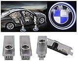Luce per porta auto Logo Light,4 pezzi di luci per porte auto LED 3D Car Light Entry illuminazione lampada del proiettore di benvenuto Logo Light (B)