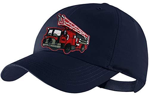 Blackshirt Company Feuerwehr Schildmütze Kinder Base Cap Feuerwehrauto Farbe Dunkelblau