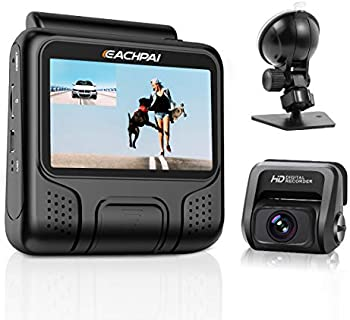 EAHCPAI E100 Pro Dual Front and Rear 4K Dashcam