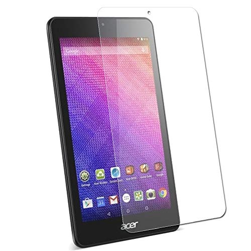 TECHGEAR Screen Protector for Acer Iconia One 7 (Model: B1-760 / B1-760HD) - Clear Lcd Screen Protector Guard Cover with Cleaning Cloth & Applicatior Card (K066)