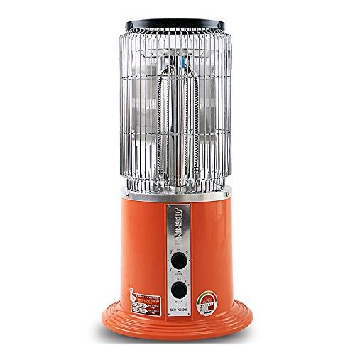 Convectores LHA Calentador de Cristal de Carbono Horno doméstico para Hornear Ventilador de calefacción de Invierno Ahorro de energía 2000W