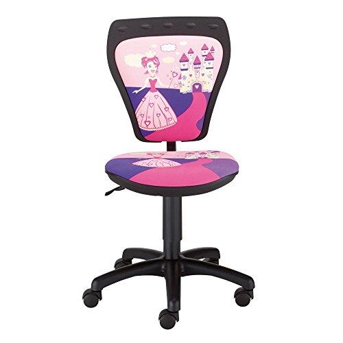 Schreibtischstuhl Kinder Zimmer Mädchen Prinzessin Drehstuhl Ministyle TS22 RTS PRINCESS
