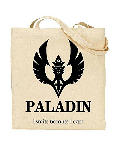 PALADIN - Fantasy Tabletop Role-Playing - Character - TOTE - Bag - Handbag - Shopping - Novelty Gift by TeeDemon