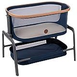 Maxi-Cosi Iora Bedside Bassinet, Metro-Essential Blue