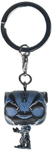 Marvel Pocket Pop-Porte-Clé Black Panther GITD, 24082, 4 cm