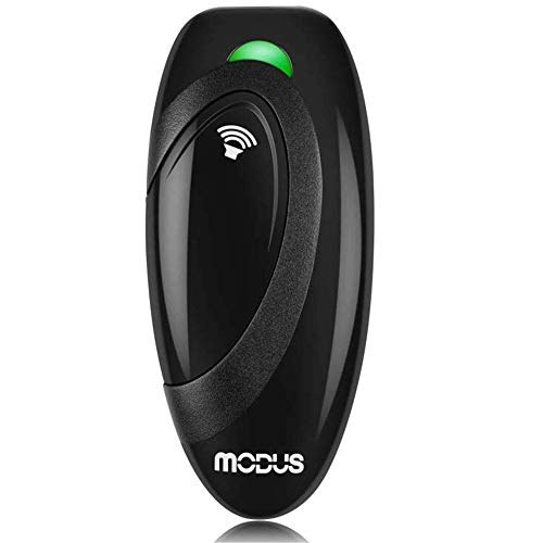 MODUS Ultrasonic Bark Control Device, Anti Barking DeviceDog Training Aid 2 in 1 Control Range of 16.4 Ft W/Anti-Static Wrist Strap LED Indicate Walk...