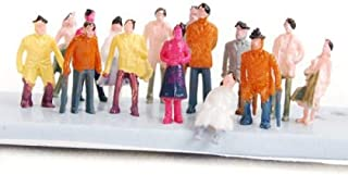 N Gauge 1:160 Scale Model Figures 50 Town People in Several Different Poses