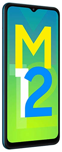 Samsung Galaxy M12 (Blue,6GB RAM, 128GB Storage) 6 Months Free Screen Replacement for Prime 4