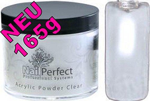 NailPerfect Premium acryl poeder 165g: CLEAR