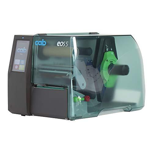 Cab EOS5 Drucker mit Abreißkante - 203 dpi - Thermodirekt, Thermotransfer - 108 mm max. Druckbreite, LAN, parallel, USB
