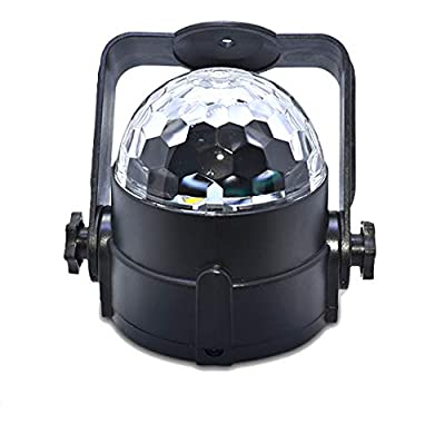 HaoTuo disco ball light RGBW 4 Colors Remote LED Water Wave Ripple Effect Stage Light for Party Dj lighting effect Show can be used fo night light