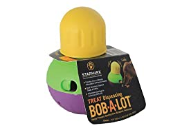 wobble-a-lot puzzle toy for dog