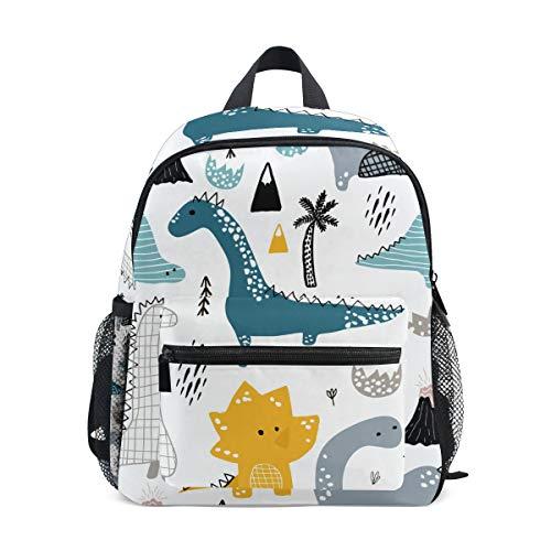 Kinderrucksack Dino Scandinavian Style Kindergarten Vorschul Tasche für Kleinkinder Mädchen Jungen
