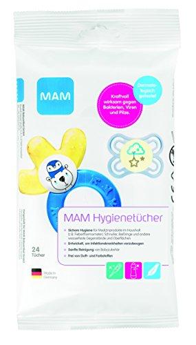 MAM Hygienetücher, 12er Pack (12 x 24 Stück)