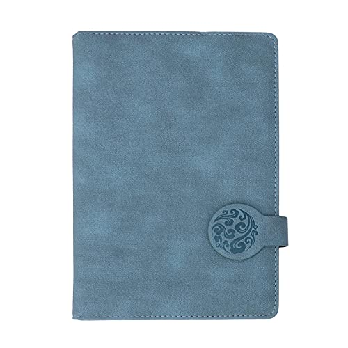 Cuaderno de papel, bloc de notas, papelería escolar, suministros de oficina para adultos para reuniones de oficina, estudiantes para registros de trabajo (el libro azul no tiene bolígrafo)