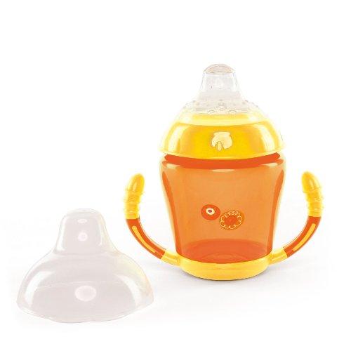 Nuvita Tasse à Bec en Silicone Orange +6 Mois