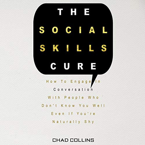 The Social Skills Cure audiobook cover art
