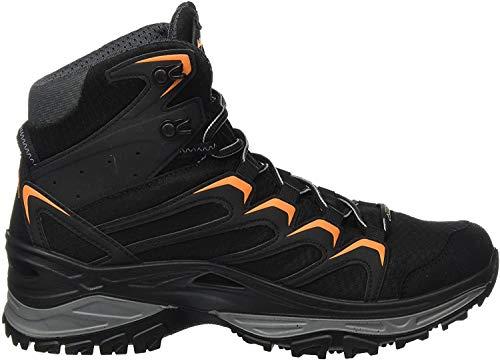 Lowa Herren Innox GTX MID Trekking- & Wanderstiefel, Schwarz Schwarz Orange 920, 43.5 EU