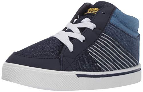 OshKosh B'Gosh Boys' Theo Sneaker, Navy, 9 M US Toddler