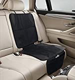 Car Seat Protector for Baby Infant Carseats - Automotive Backseat Protector Mat to use Under Child Car Seat Bases as Leather Upholstery Seats Covers or Back Carseat Protectors - Interior Accessories