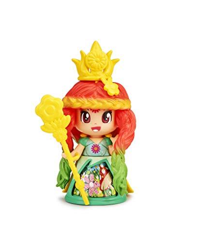 Pinypon - Queen Figura Flor Vestido Verde (Famosa 700015577)