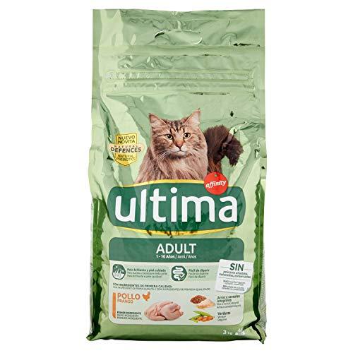 Ultima Cibo per Gatti Adulti con Pollo - 3 kg